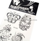 New style Beautiful flower body tattoo sticker