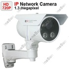 CCTV H.264 1.3 Megapixel 720P Outdoor Nigth Vision Array IR IP Camera