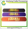 New fashion OBAMA slap & snap silicone rubber bracelets AC98689