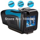 HT200A Full HD 1920x1080p 1080P 30FPS Water-resistant Sports Action Helmet Camera w/1.5' TFT LCD/HDMI/AV Out