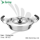 Stainless steel frying pan;wok pan;skillet;griddle