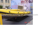 TCS-640 Aluminum alloyed boat