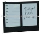 calender dry erase board wooden memo board