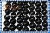 agate-60 black agate ball, clean surface agate gemstone accessories