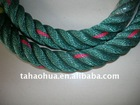pp twisted rope with 4-ply for fishing