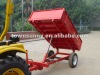 Tractor hydraulic Trailer with CE