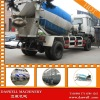 DASWELL Best selling Hydraulic concrete mixer truck dimensions