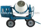 C-260L Diesel concrete mixer with four-wheels