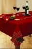 Applique cutwork tablecloth