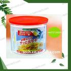 Food storage plastic jars