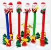 Hot Selling Mix Design Christmas Decoration Santa Claus Pencil Christmas Gift