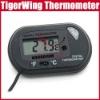 LCD display Digital Aquarium Tank Water thermometer temperature gauge meter w/ suction cup