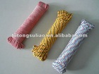 colored braided rope