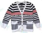 kids striped cardigan