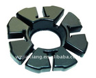 motorcycle buffer rubber