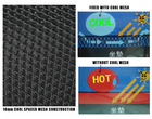 plasic net mesh,motorbike saddle wrap for health protection