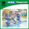 Plastic Funny water slide playground
