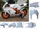 Fiberglass cover for motorcycle (Fiberglass motorcycle body kits)