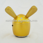 protable mini vibration speaker rabbit