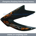 Motorcycle Body Kit Accessories Dirtbike Fairing TANK SIDE COVER for HONDA NXR150 200 2010