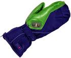 Heated ski glove