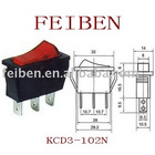 KCD3-102N rocker switch