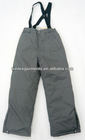 Children100 nylon/polyester ski pants ,children ski pants for 2013 winter collection