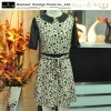 new fashion dress, short sleeve chiffon dress. beautiful , good quality dress