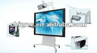 motorized Auto-lift mobile stand for interactive electronic whiteboard and projector