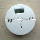 Independent digital CO detector alarm,auto carbon monoxide detector