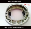 High quality motorcycle brake shoe for CG125
