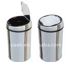 9L ss sensor waste bin, dust bin, garbage bin, infrared sensor waste bin