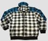 Mens cvc woolen hoody coat, style no.7604263