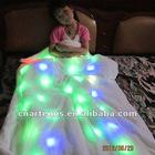 colorful shining led blanket