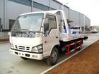 ISUZU wrecker truck with towing one