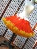 Baby kids Halloween costume Baby kids girls chiffon tutu full pettiskirts princess skirt