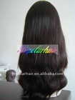 100% Black natural Virgin European hair jewish kosher wig