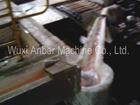 Aluminium liquid sending to ingot caster