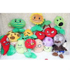2011 new lovely stuffed & plush toys 12 Plants vs Zombies in new plush toy