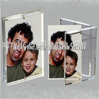 Clear Acrylic photo frame with magnets
