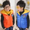 2012 korean style new arrival children winter waistcoats,kid clothes, children clothing