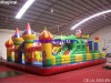 Outdoor playground inflatable fun city
