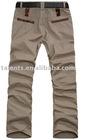 men's cotton leisure pants