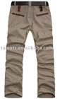 men's cotton leisure pants