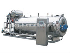 Rotary High temperature continuous steam Sterilizer