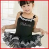2012 black children bellet dress