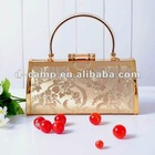 2690-2# Elegant ladies fashion clutch evening bags high quality pu leather