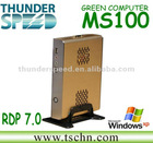 2012 Newest Mini Computer MS100 with N270 CPU RDP 7 Thin Client