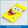 Spongebob Case for iPod Touch 4 Six designs beautiful cover for touch 4 case