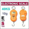 Cheap Pocket Digital Scale with Weighting Hook 40kg 10g with 4 colors